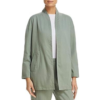 Eileen Fisher - Chaqueta Ligera de algodón orgánico para ...