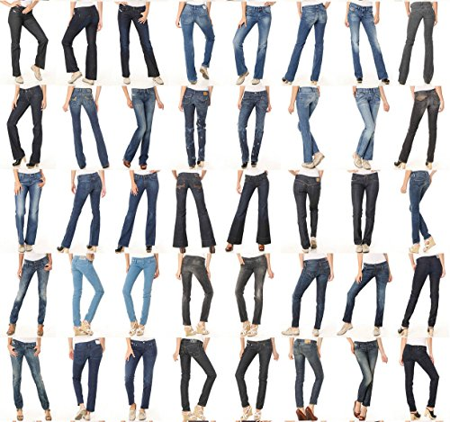 Variety Assorted R1 Wholesale Lot Clothing 100 Women Bottoms Jeans Pants Shorts Skirts Apparel by Variety Assorted