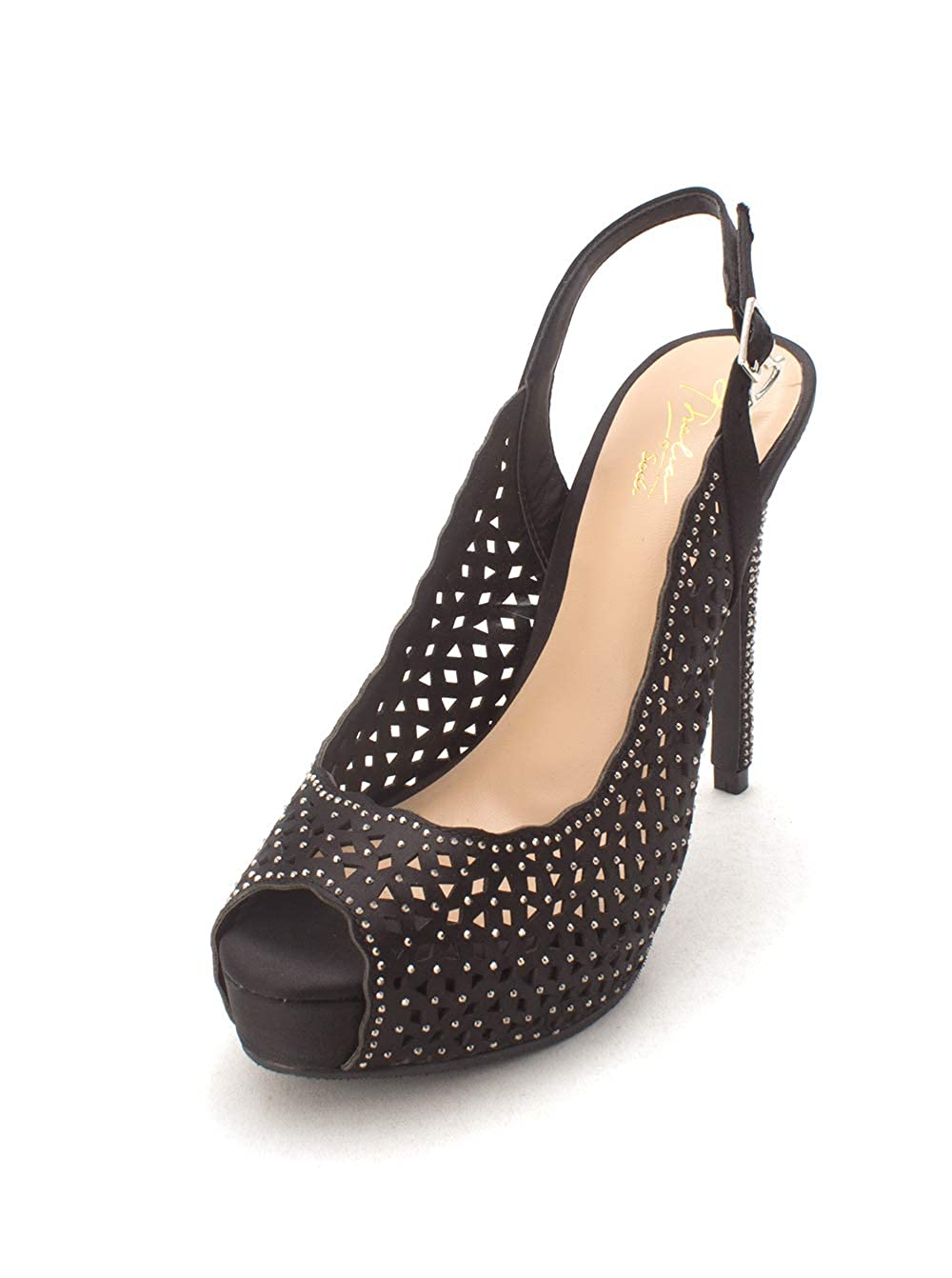 Thalia Sodi Womens Cace Peep Toe Slingback Classic Pumps