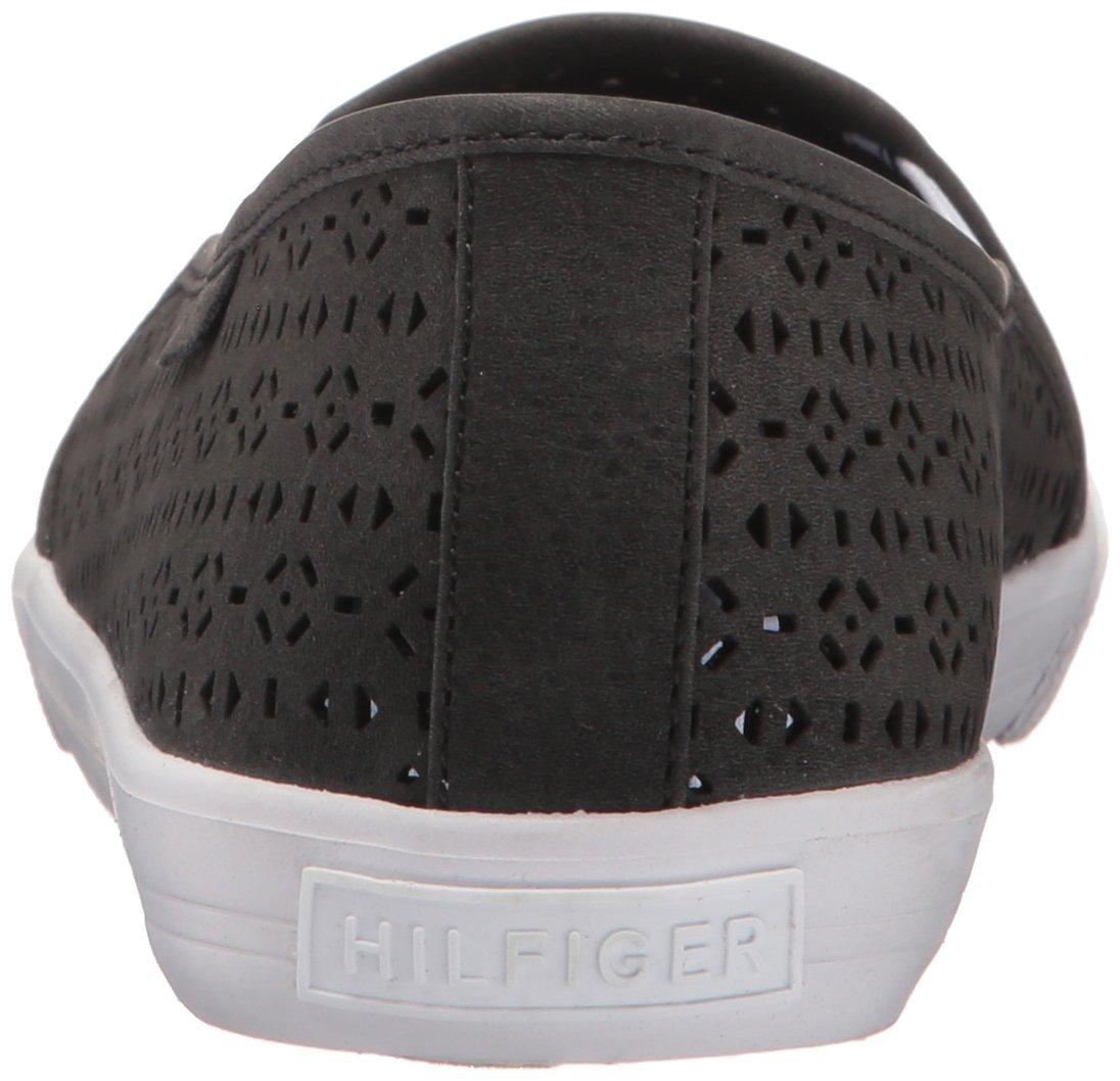 Tommy Hilfiger Women's Beau Flat B01LZM2L5V 6.5 B(M) US|Black