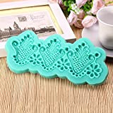 Bluelover Fondant Cake Decorating Tools Soap Mold Silicone Cake Mould