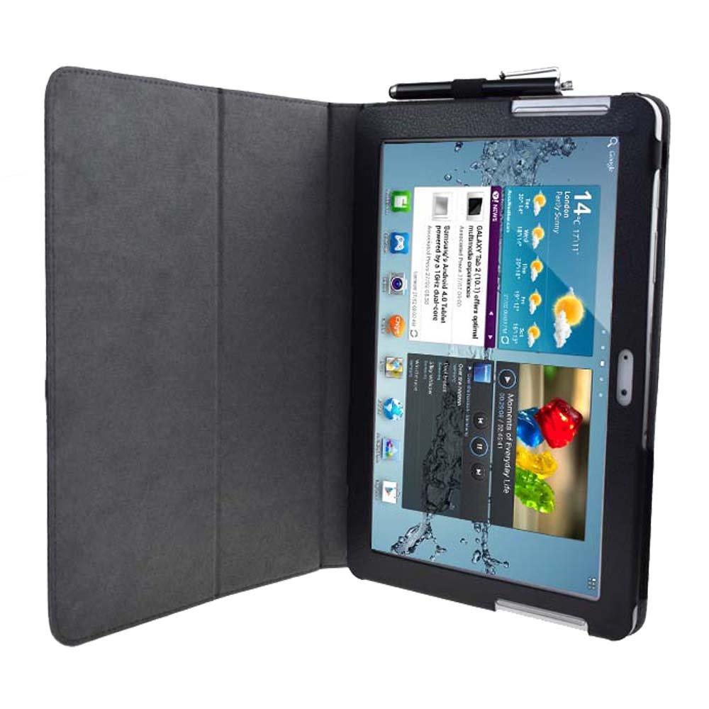 Amazon.com: Para Samsung Galaxy Tab 2 10.1 Funda Flip Cover ...