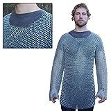 Medieval Knights Full Sleeve Hauberk Chainmail Medium