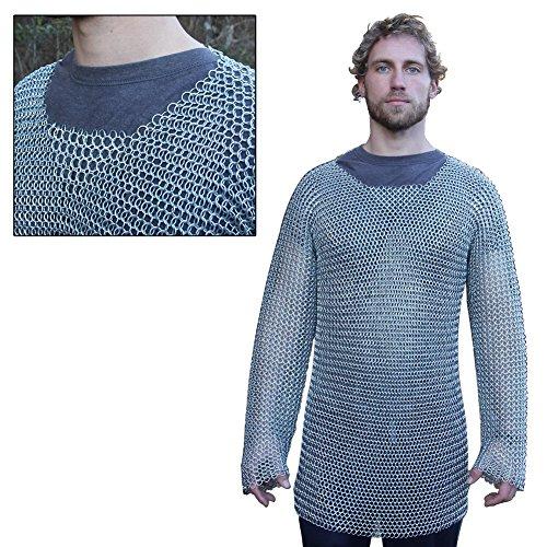Armory Replicas Medieval Knights Full Sleeve Hauberk Chainmail -