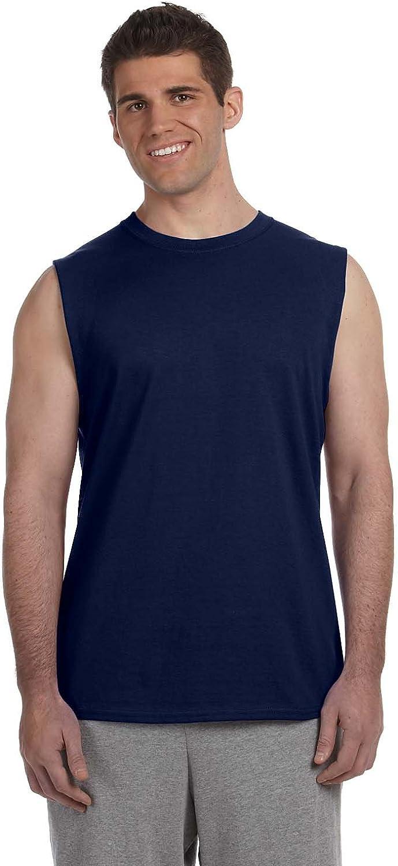 Gildan Adult Comfort Hemmed Sleeveless Jersey T-Shirt