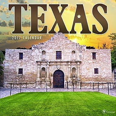2017 Texas Wall Calendar