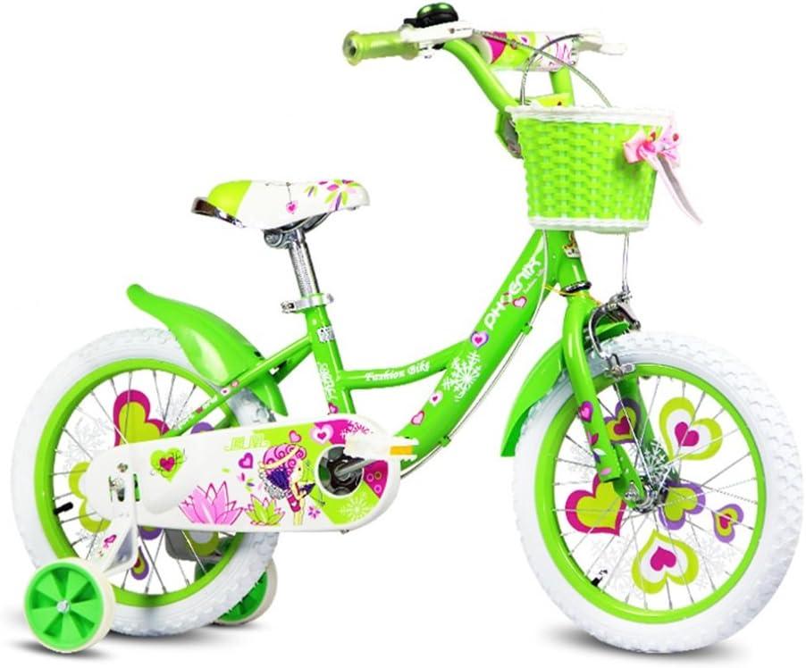 XQ Verde Bicicleta Para Niños 3-13 Años De Edad Desmontable ...