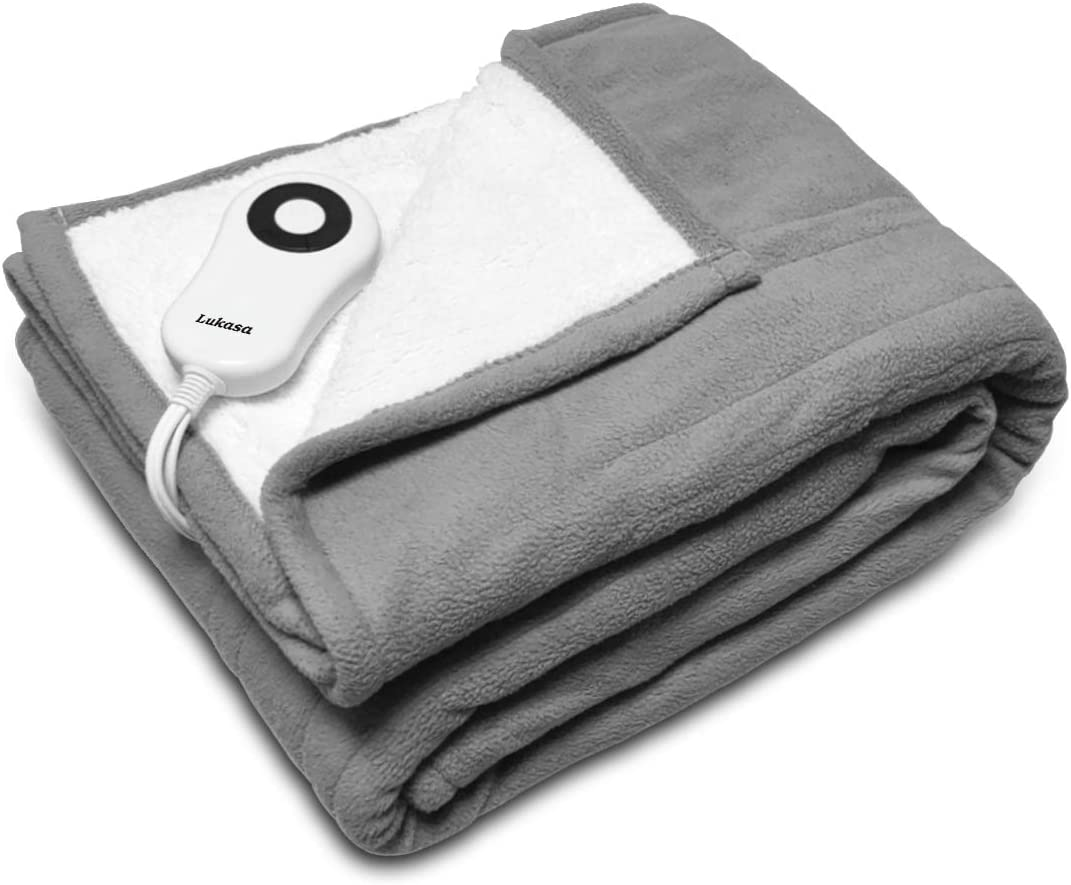 Lukasa Heated Throw Blanket