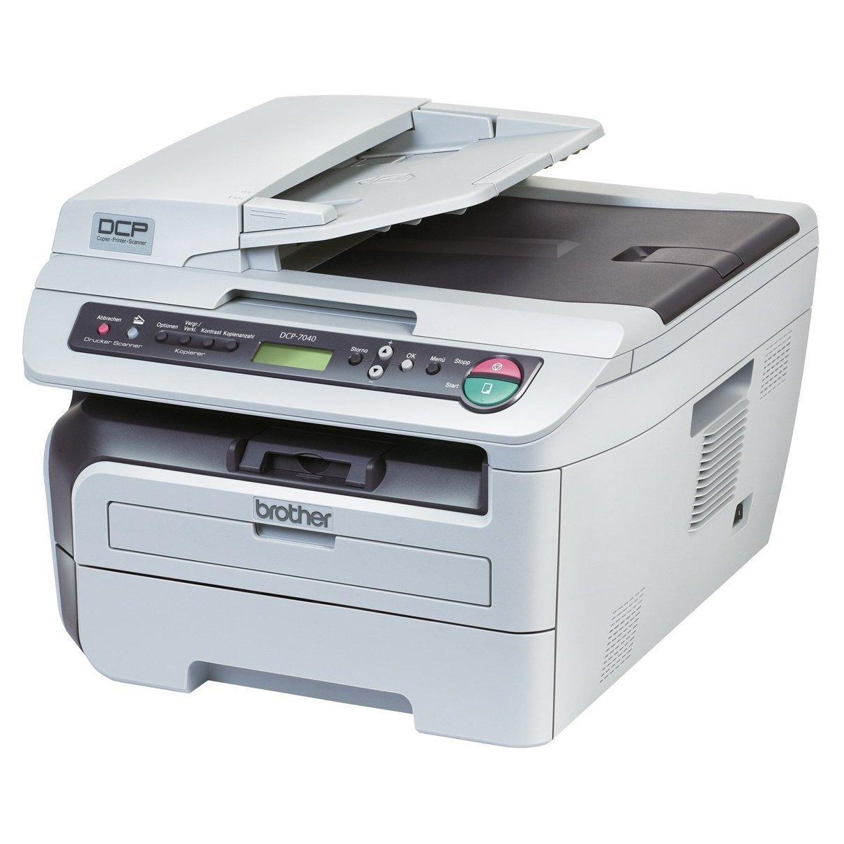 Brother DCP-7040 - Impresora multifunción láser (22 ppm, A4 ...