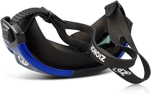 Gafas de nataci/ón correctivas graduadas antivaho a prueba de fugas 100/% protecci/ón UV hipermetrop/ía ZIONOR G3 tapones para los o/ídos y pinza para nariz gratis tintadas para nadadores al aire libre