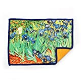 Smartie Microfiber Cleaning Cloth for Touch Screens Van Gogh Irises