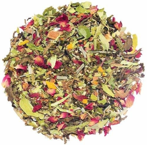 The Indian Chai - Slimming Healthy Green Loose Leaf Tea, Weight Loss Tea, Wellness, (Guava Leaf Herbal Infusion)