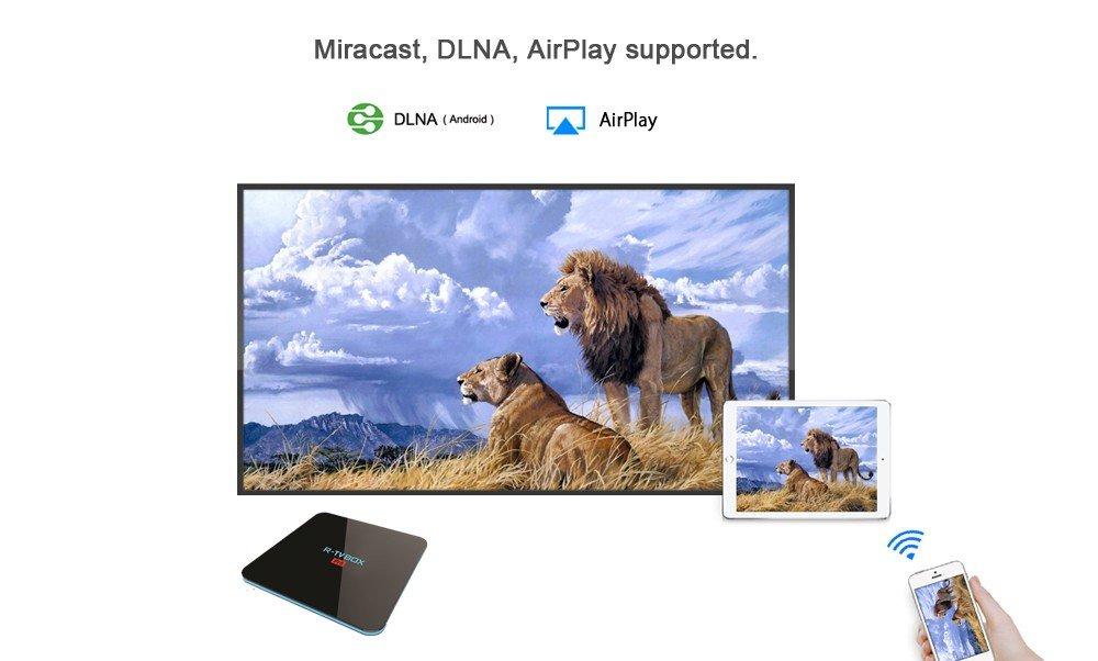 Android 7 1 R-TV BOX Pro 3GB DDR4 32GB eMMC Amlogic S912 4K
