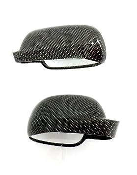 golf passat bora seat skoda - Carcasa para espejos retrovisores exteriores diseño de carbono: Amazon.es: Coche y moto