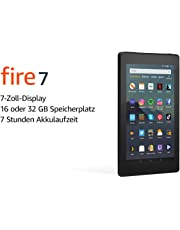 Das neue Fire7-Tablet (7-Zoll-Display, 16GB), Schwarz mit Spezialangeboten