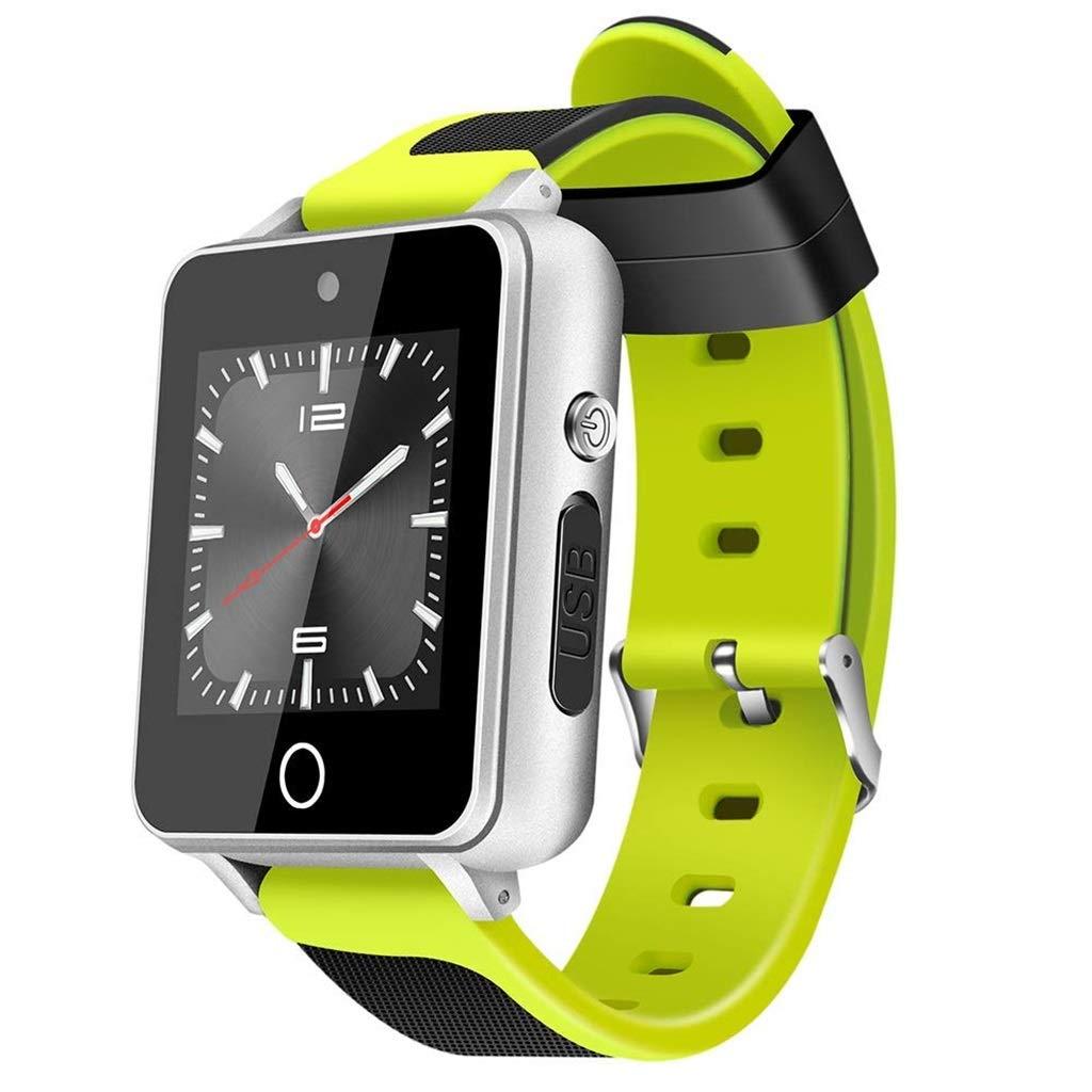 フィットネストラッカースマートスポーツブレスレットGPSポジショニング双方向通話Bluetooth音楽スマートウォッチ4GB + green 16G Android + 5.1-1.5inchグリーン/ブラック/ブラックシルバー green/ブラックレッド B07MVSTMT9 green green, マザーガーデン:a2ee97a7 --- lembahbougenville.com