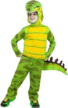 Horror-Shop Disfraz de dinosaurio T-Rex para niños verde XL ...