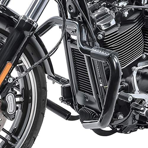Pare Cylindre Mustache II pour Harley Softail Sport Glide 18-20 Noir