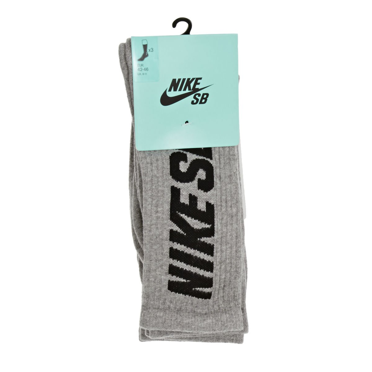 Nike Crew Socks 3PPK Calcetines, Unisex, Multi-Coloured-Dk ...