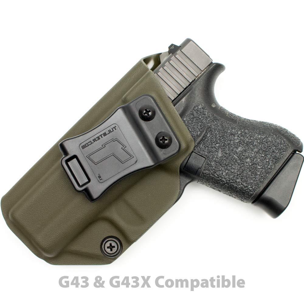 Tulster Glock 43/43X Holster IWB Profile Holster (OD Green - Left Hand)