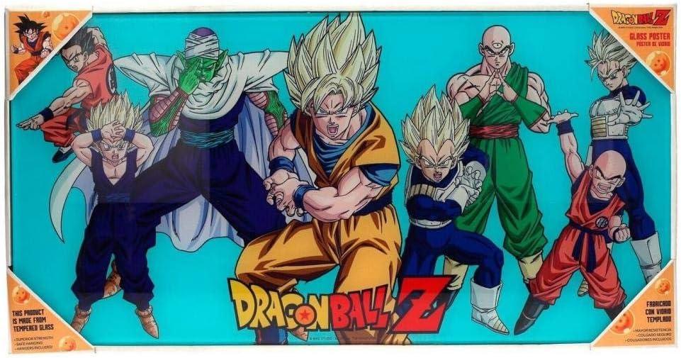 SD toys Z Heroes Poster De Vidrio Dragon Ball 60 x 30 Cm, Multicolor (SDTDRB22026): Amazon.es: Juguetes y juegos