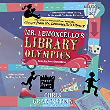 Mr. Lemoncello's Library Olympics Audiobook by Chris Grabenstein Narrated by Jesse Bernstein
