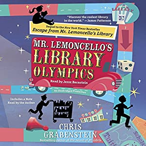 Mr. Lemoncello's Library Olympics Audiobook