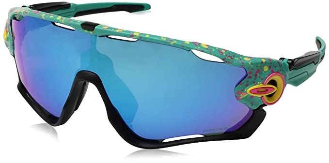 73652615fd Amazon.com  Oakley Men s Jawbreaker Splatterfade Sunglasses