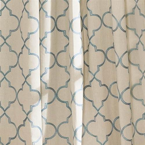 Lush Decor Geo Window Curtain Panel Pair