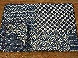Tribal Asian Textiles Indigo Color Hand Block