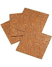 Quartet Cork Tiles, Natural, 12 Inch x 12 Inch, Frameless, 4 Pack (102)