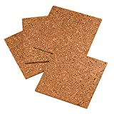 Quartet Cork Tiles, Cork Board, 12' x 12', Corkboard, Wall Bulletin...
