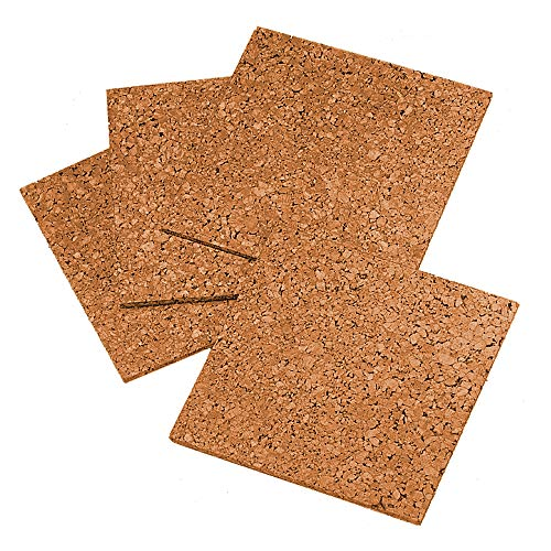 Quartet Cork Tiles, 12 by 12, for crafts