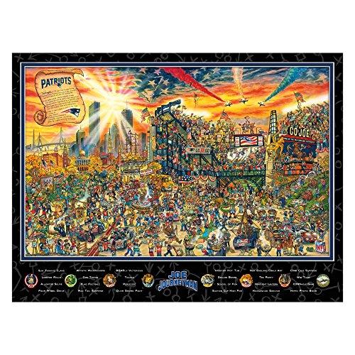 UPC 810689024675, Joe Journeyman NFL New England Patriots Jigsaw Puzzle, 500-Piece