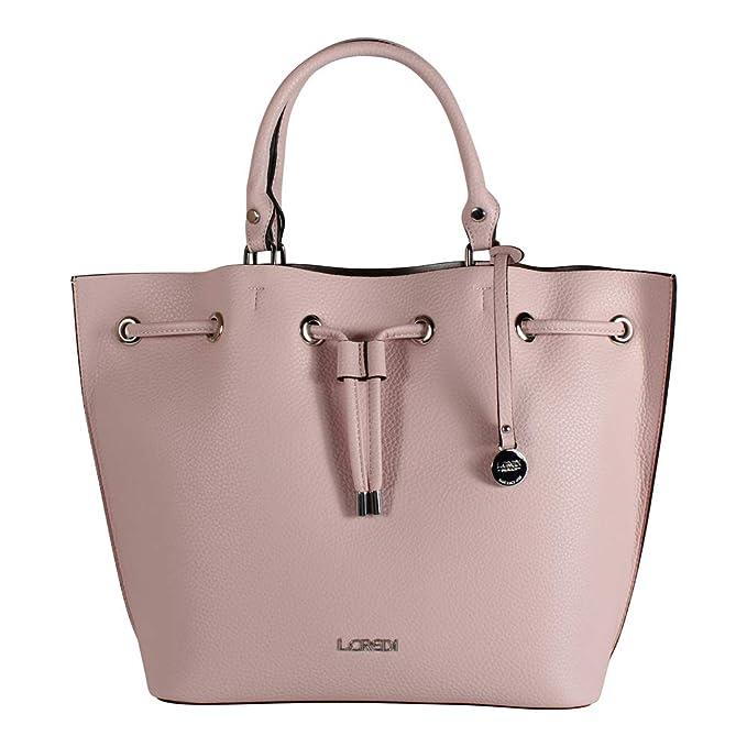 L. CREDI Damen Handtasche Constance 309 3011 rosa
