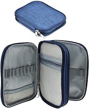 Häkelnadeln Set Bag Häkelnadel Tasche ohne inhalt aus PU-Leder Nähset