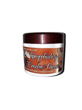 Amazon.com: El Curandero Yaqui - Crema Facial con Tepezcohuite y Concha Nacar - contenido 120g - Productos Naturales: Beauty