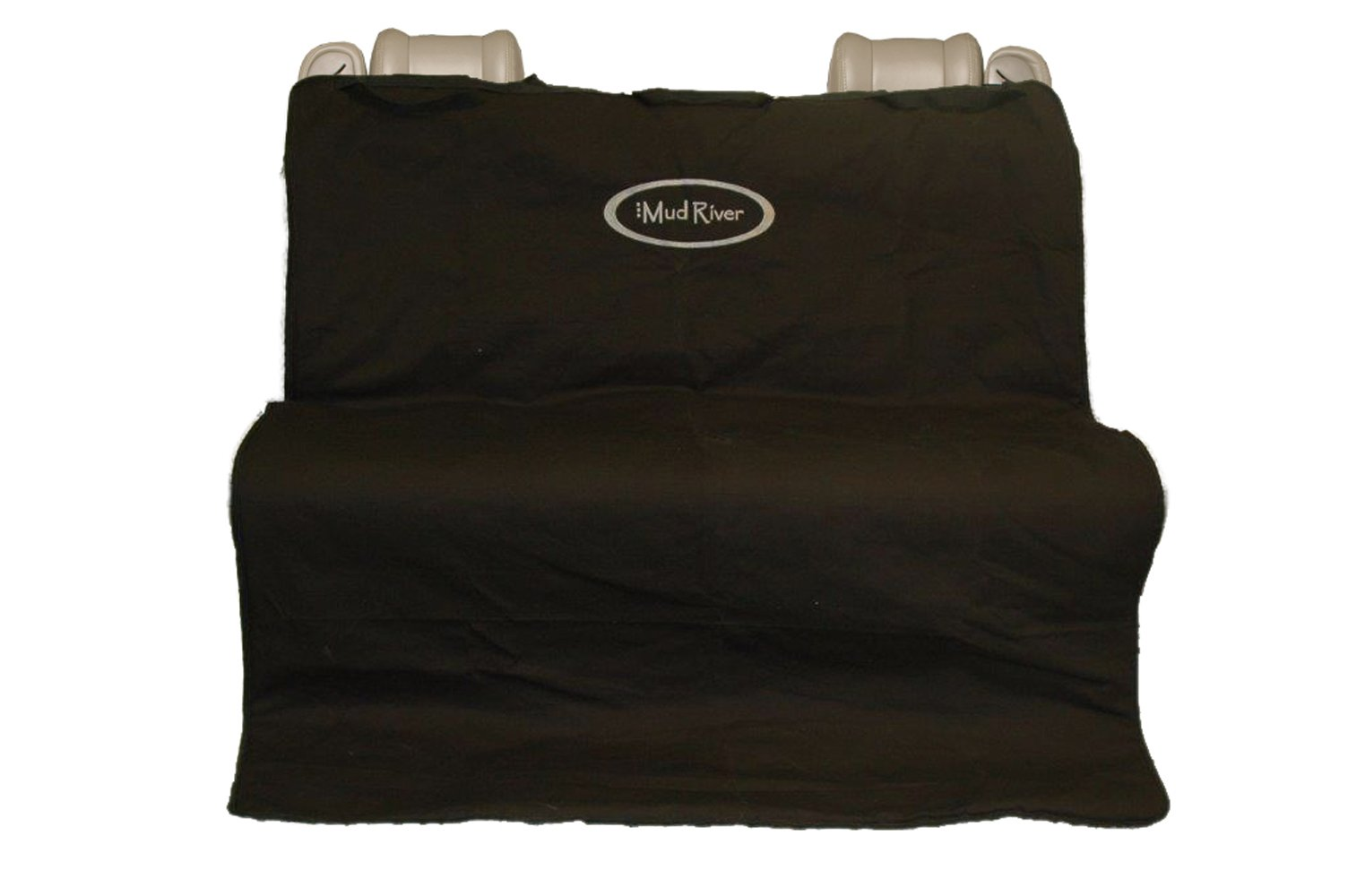 Mud River Mudriver Two Barrel Double Seat Cover Black, Regular