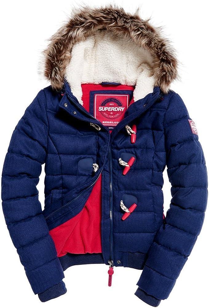 Superdry Marl Toggle Duffle Jacket
