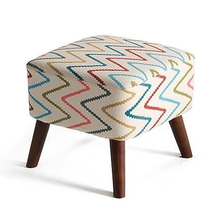 Banco del zapato de madera sólida taburete del sofá de la ...