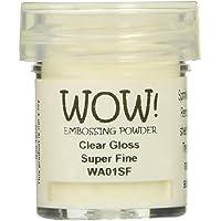 WOW!Goffratura polvere superfine 15ml-Clear Gloss
