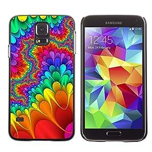 Be Good Phone Accessory // Dura Cáscara cubierta Protectora Caso Carcasa Funda de Protección para Samsung Galaxy S5 SM-G900 // Trippy Lsd Hippies Freedom Psychedelic