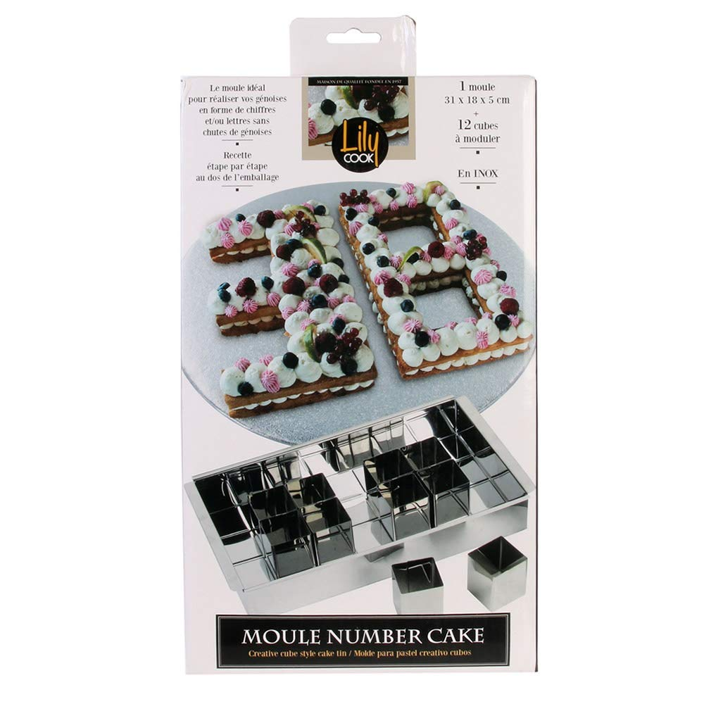 Inox MouleNumber Cake