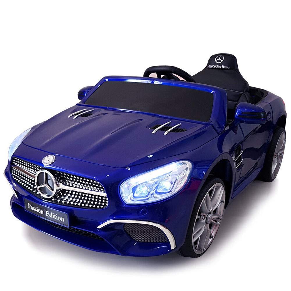 Bseion Mercedes-Benz Control remoto Coche deportivo Vehículo eléctrico de cuatro ruedas para niños Un bebé con un carro oscilante Autogenerador / Asiento de ...