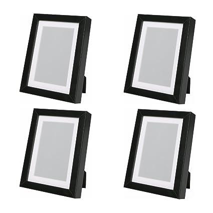 Amazon Ikea Ribba Picture Frame Black 4 8 X 10 Home Kitchen