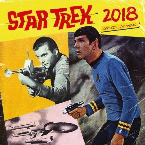 Star Trek Official 2018 Calendar - Square Wall Format