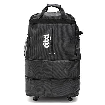 "32"" Expandable Rolling Duffle Bag,Large Wheeled Travel Duffel Luggage Bag"