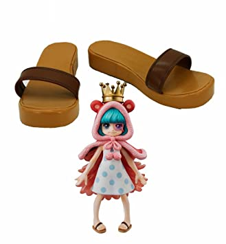 One Piece Anime Sugar Cosplay Shoes Boots Custom Made