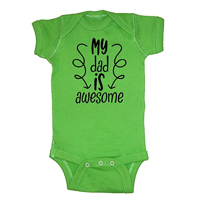 Mashed Clothing - My Dad is Awesome - Daddy Gift Father s Day - Baby  Bodysuit ( 118c7353d0
