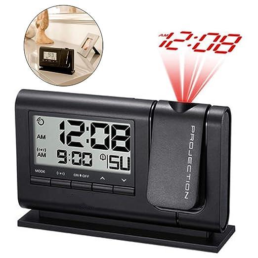 Proyección del Reloj Despertador Digital Pantalla Grande 24 Horas ...